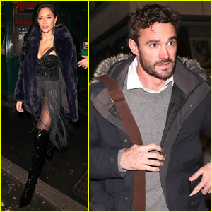 Nicole Scherzinger & Rugby Player Thom Evans Head Out After Seeing a Show Together in London