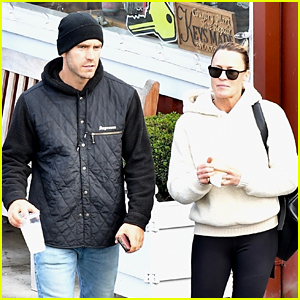 Robin Wright & Husband Clement Giraudet Go Casual for Post-Christmas Lunch Date