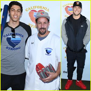 Adam Sandler, Colton Underwood & More Team Up for Celebrity Softball Benefit Game!