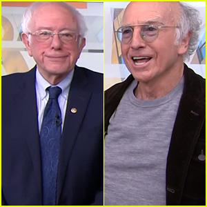 Bernie Sanders & Doppelganger Larry David Hilariously Meet on 'Today' (Video)