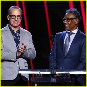 Bob Odenkirk & His 'Better Call Saul' Co-Star Giancarlo Esposito Present at Spirit Awards 2020