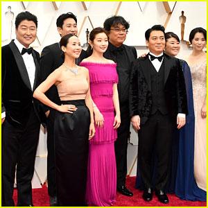 Bong Joon-ho & 'Parasite' Cast Walk the Oscars Red Carpet!