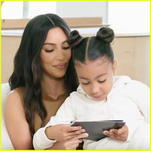 North West Crashes Kim Kardashian & Kanye West's Architectural Digest Interview - Watch!