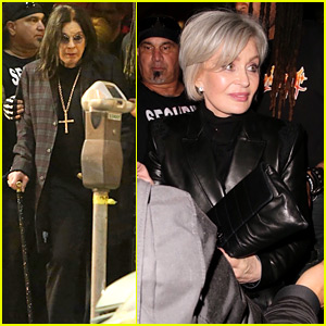Sharon Osbourne Shows Off New White Hair at Ozzy's Album Release Party!