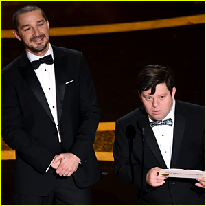 Shia LaBeouf's Director Defends Him After Oscars 2020 Bit with Zack Gottsagen