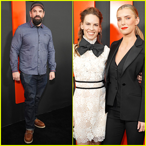 Ethan Suplee Shows Off His Fit Physique at 'The Hunt' Premiere With Hilary Swank & Betty Gilpin
