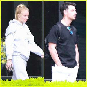 Sophie Turner & Joe Jonas Keep It Comfy After Returning to LA