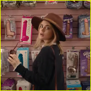 Lucy Hale Makes An Unconventional To-Do List in 'A Nice Girl Like You' - Watch The Trailer Now!