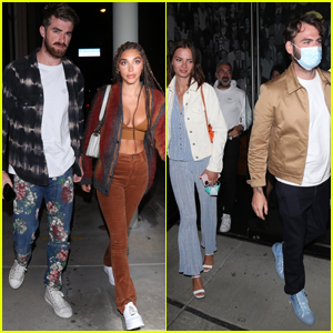 The Chainsmokers Double Date in West Hollywood!
