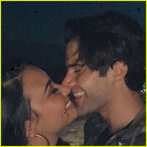 Demi Lovato & Max Ehrich Can't Stop Smiling in Cute Pic!