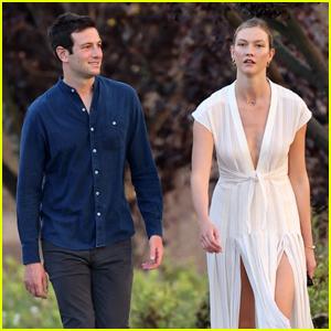 Karlie Kloss & Husband Joshua Kushner Head Out on Sunset Stroll!
