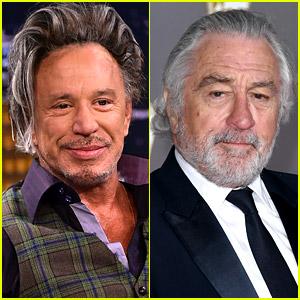 Mickey Rourke Reignites His 30-Year Feud with Robert De Niro