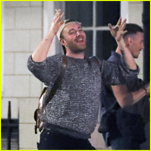 Sam Smith Dances in the Streets of Soho