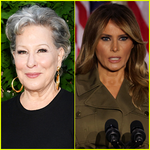 Bette Midler Says She Was Wrong for Mocking Melania Trump's Accent
