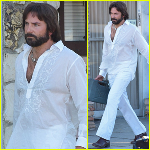 Bradley Cooper Looks Straight Out of the 1970s on Set of Paul Thomas Anderson Movie