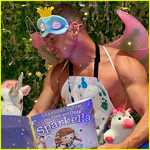 Channing Tatum Dresses as a Fairy to Promote the Children's Book He Wrote in Quarantine!