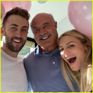 Dr. Phil Celebrates Son Jordan McGraw & Fiancee Morgan Stewart's Pregnancy!
