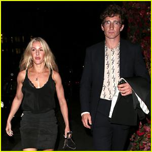Ellie Goulding Steps Out with Husband Caspar Jopling for a London Date Night!
