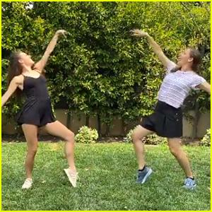 Jennifer Garner & Tiler Peck Dance It Out In Socially Distanced Dance Video - Watch Here!
