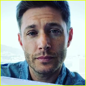 Jensen Ackles Gets Choked Up Ahead of Filming 'Supernatural' Series Finale (Video)