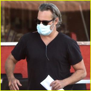 Joaquin Phoenix Heads Out for an Errand Run in LA