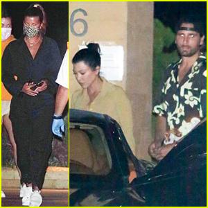 Kourtney Kardashian & Scott Disick Run Into His Ex Sofia Richie While Out for Dinner