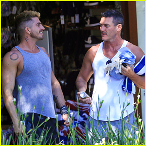 Luke Evans & Boyfriend Rafael Olarra Are Still Going Strong - See New Photos!