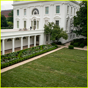 Melania Trump Renovated the White House's Rose Garden & These Photos Reveal the New Look
