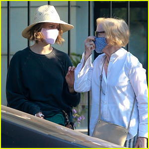 Sarah Paulson & Holland Taylor Spotted On a Rare Outing in L.A.