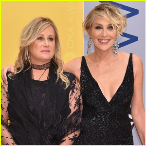 Sharon Stone Reveals Sister Kelly Has COVID-19, Slams 'Non-Mask Wearers' For Getting Her Sick
