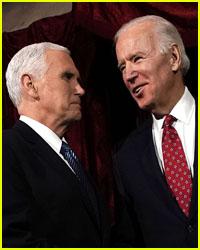 Joe Biden & Vice President Pence Unite for a Solemn Moment