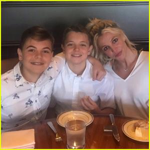 Britney Spears Wishes Sons Sean & Jayden a Happy Birthday!