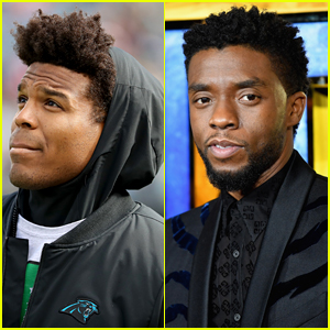 Cam Newton Pays Tribute to Chadwick Boseman, Does Wakanda Forever Salute During NFL Game