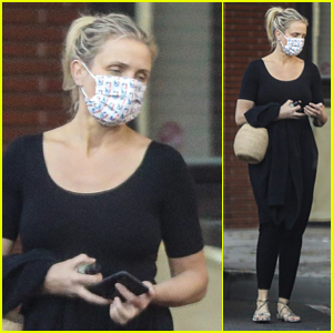 Cameron Diaz Steps Out to Run Errands in Beverly Hills