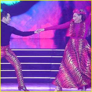 Carole Baskin Makes 'DWTS' Debut, Dances to 'Eye of the Tiger' & Earns Lowest Score of the Night (Video)