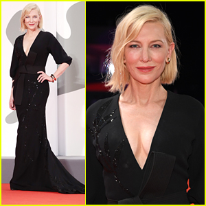 Cate Blanchett Stuns in Armani Privé For 'Spy No Tsuma' Premiere at Venice Film Festival 2020