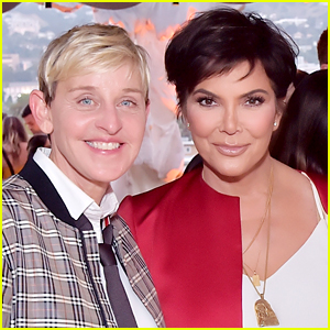 Kris Jenner Supports Ellen DeGeneres After Her Summer of Controversy