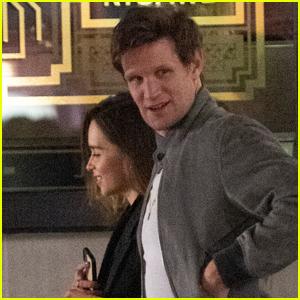 Emilia Clarke Grabs Dinner with Matt Smith in London!