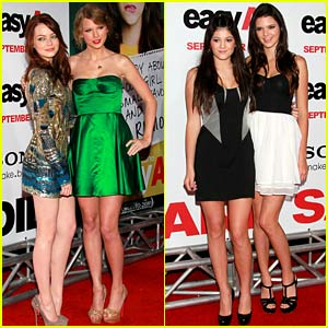 'Easy A' Turns 10: Look Back at Emma Stone, Taylor Swift, the Jenners, & More at the Premiere!