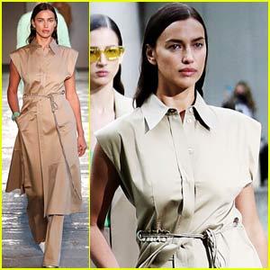 Irina Shayk Returns to the Runway for Milan Fashion Week!