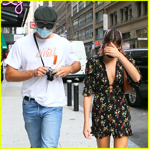 Kaia Gerber & Jacob Elordi Head To Business Meeting Together After A Workout in NYC