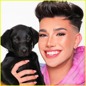 James Charles Gets a New Puppy - Watch! (Video)