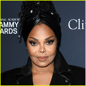 Janet Jackson's Son Eissa Painted Her Face Like a Tiger!
