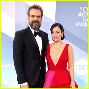 Lily Allen & David Harbour Are Married!