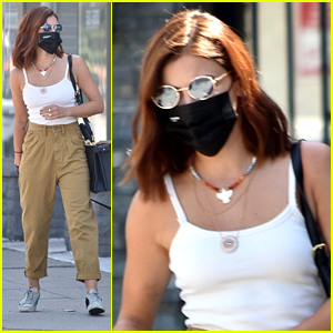 Lucy Hale Debuts Red Hair After Safely Getting Tested For COVID-19