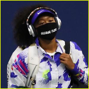 Naomi Osaka Wears George Floyd Mask During Latest U.S. Open 2020 Match