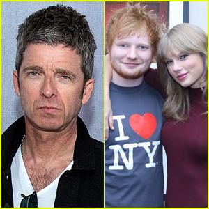 Noel Gallagher Publicly Insults Taylor Swift & Ed Sheeran