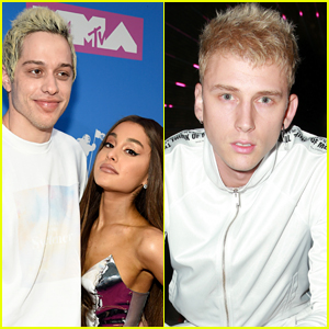 Machine Gun Kelly Reveals His Initial Reaction to Pete Davidson's Engagement to Ariana Grande