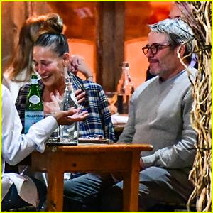 Sarah Jessica Parker & Matthew Broderick Do Outdoor Dining in New York City