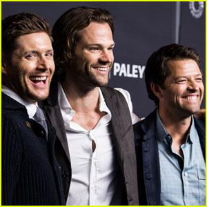 Jensen Ackles, Jared Padalecki & Misha Collins Say Goodbye to 'Supernatural' on Last Day of Filming